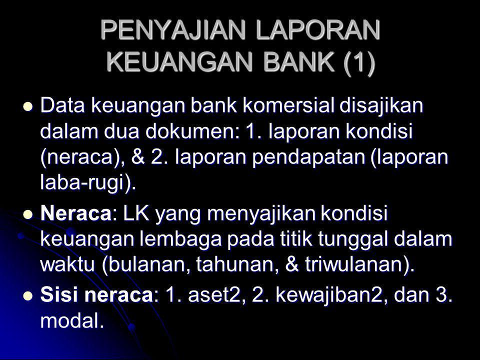 PENYAJIAN LAPORAN KEUANGAN BANK (1)