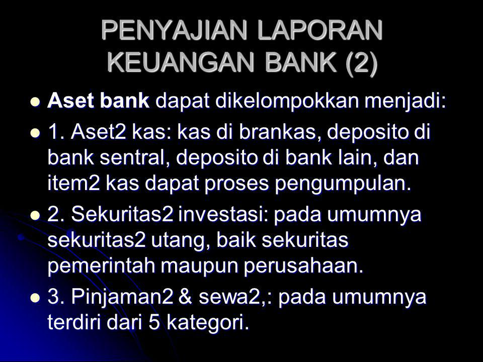 PENYAJIAN LAPORAN KEUANGAN BANK (2)