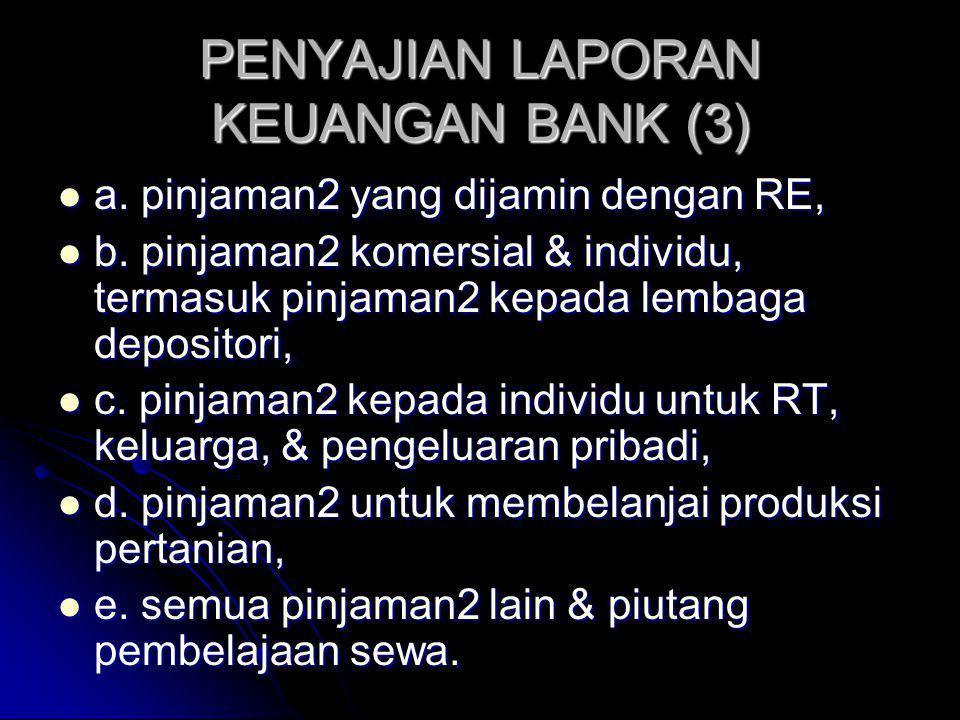 PENYAJIAN LAPORAN KEUANGAN BANK (3)