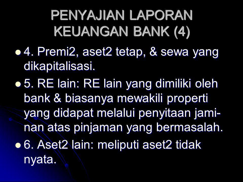 PENYAJIAN LAPORAN KEUANGAN BANK (4)