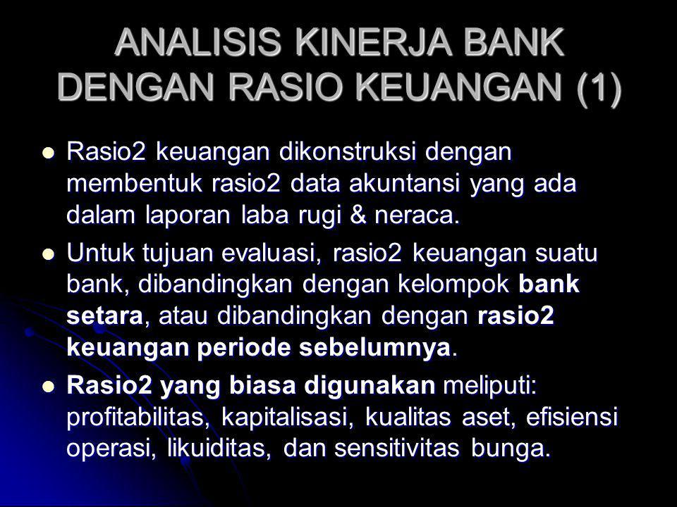 ANALISIS KINERJA BANK DENGAN RASIO KEUANGAN (1)