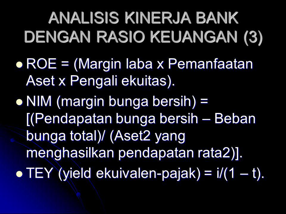 ANALISIS KINERJA BANK DENGAN RASIO KEUANGAN (3)