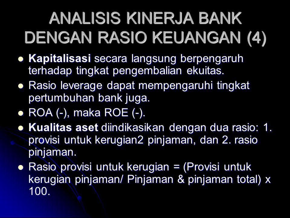ANALISIS KINERJA BANK DENGAN RASIO KEUANGAN (4)