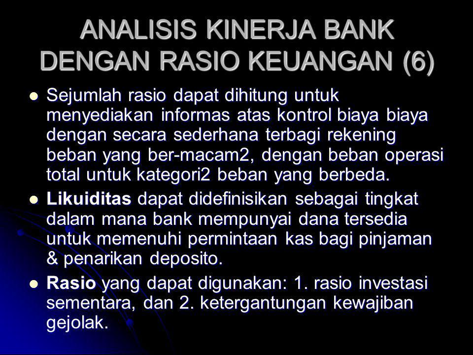 ANALISIS KINERJA BANK DENGAN RASIO KEUANGAN (6)