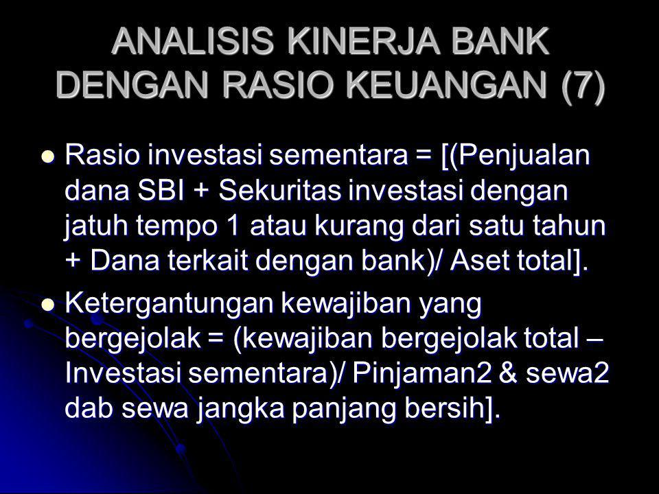ANALISIS KINERJA BANK DENGAN RASIO KEUANGAN (7)