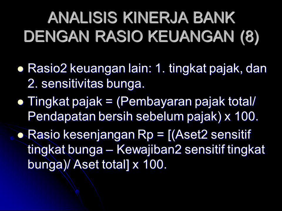 ANALISIS KINERJA BANK DENGAN RASIO KEUANGAN (8)