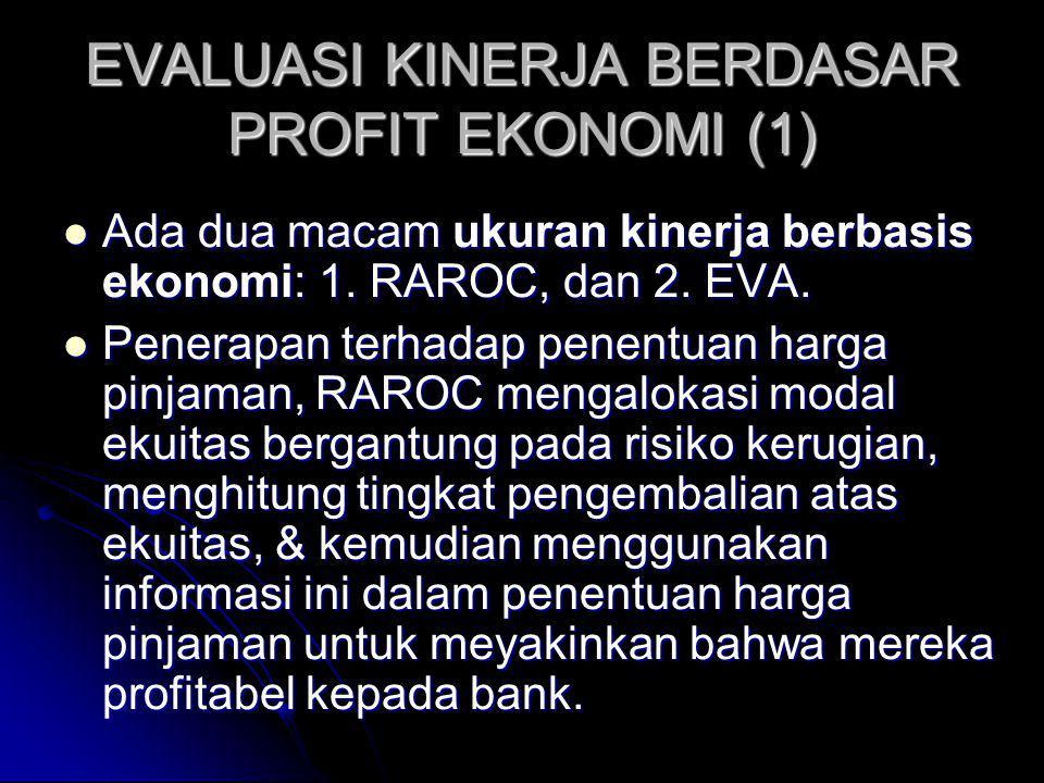EVALUASI KINERJA BERDASAR PROFIT EKONOMI (1)