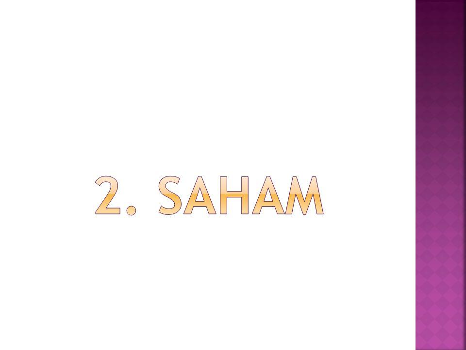 2. saham
