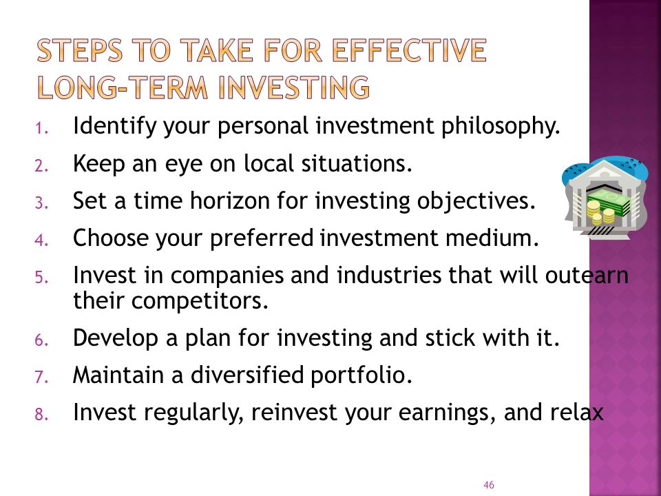 Steps to Take for Effective Long-Term Investing