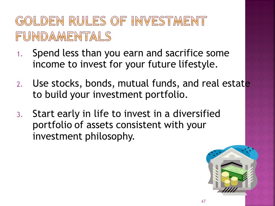 Golden Rules of Investment Fundamentals