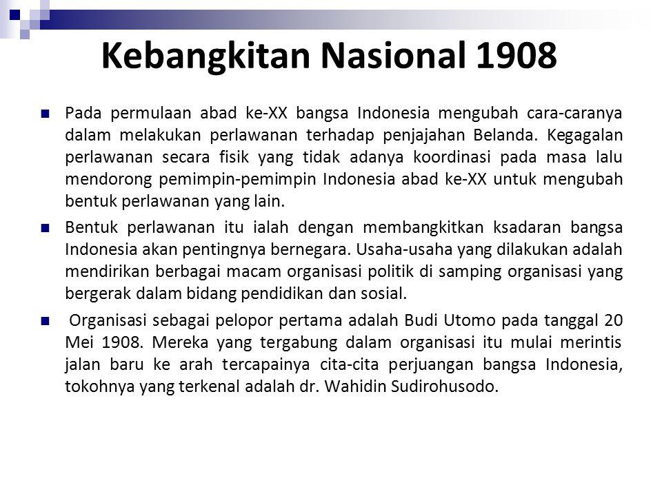 Kebangkitan Nasional 1908
