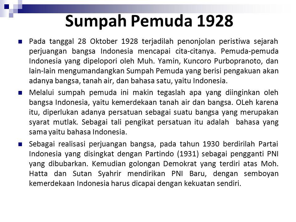Sumpah Pemuda 1928