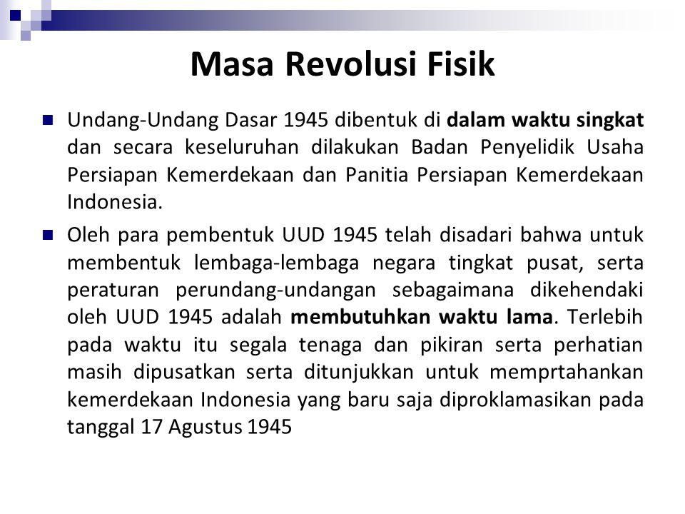 Masa Revolusi Fisik