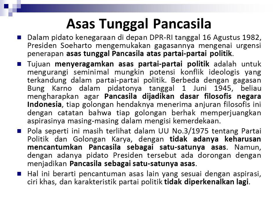 Asas Tunggal Pancasila