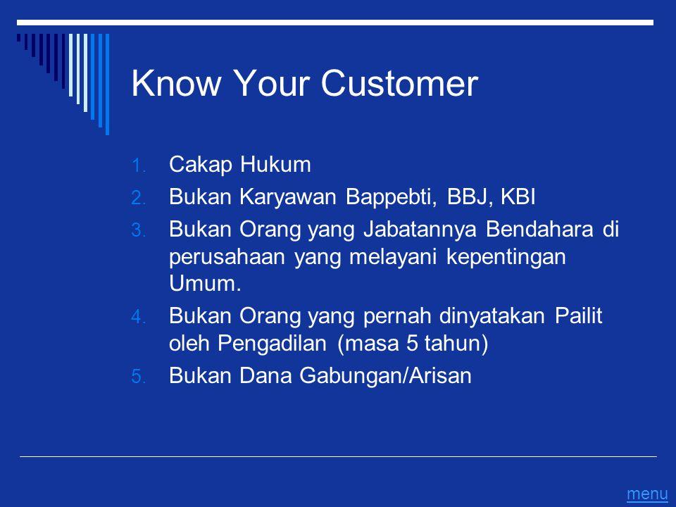 Know Your Customer Cakap Hukum Bukan Karyawan Bappebti, BBJ, KBI