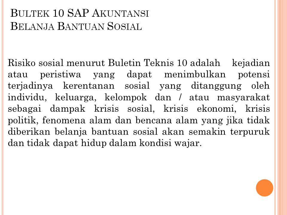 Bultek 10 SAP Akuntansi Belanja Bantuan Sosial
