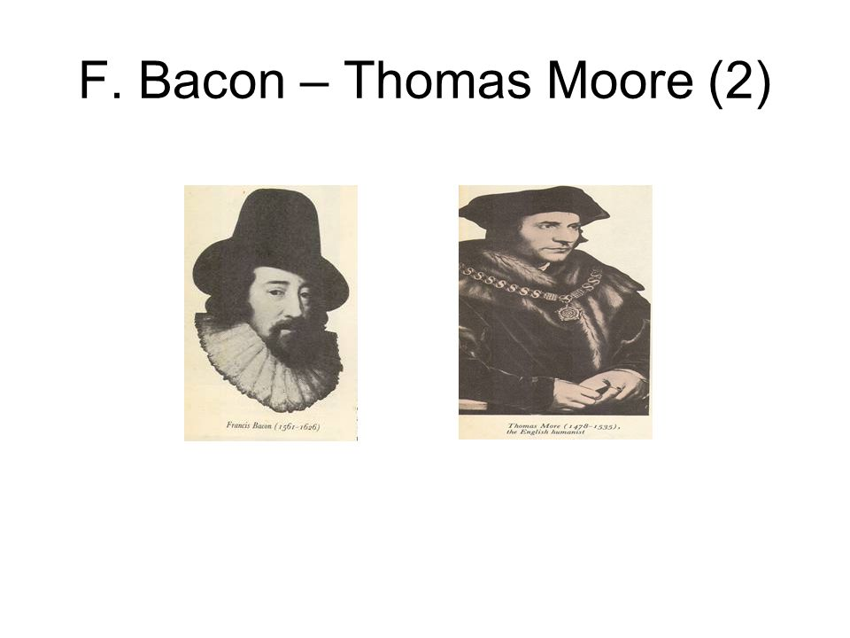 F. Bacon – Thomas Moore (2)