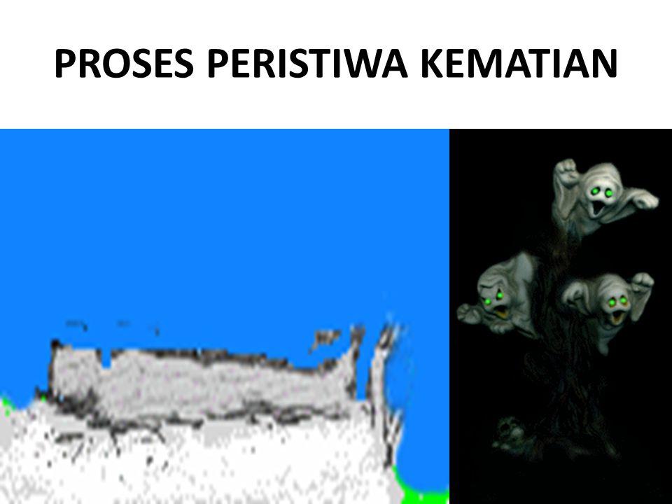 PROSES PERISTIWA KEMATIAN