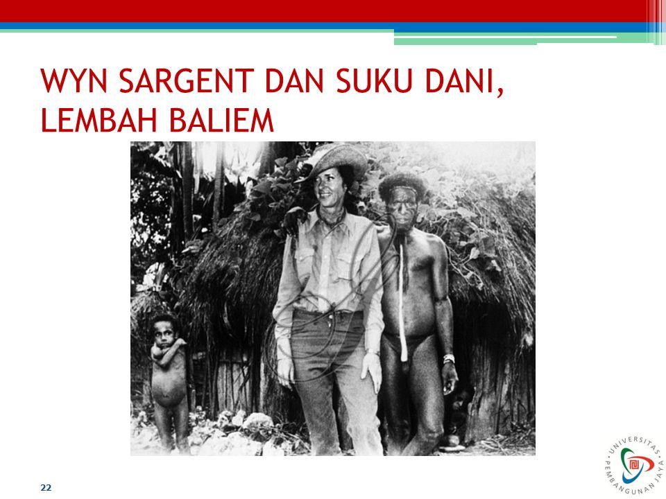 WYN SARGENT DAN SUKU DANI, LEMBAH BALIEM