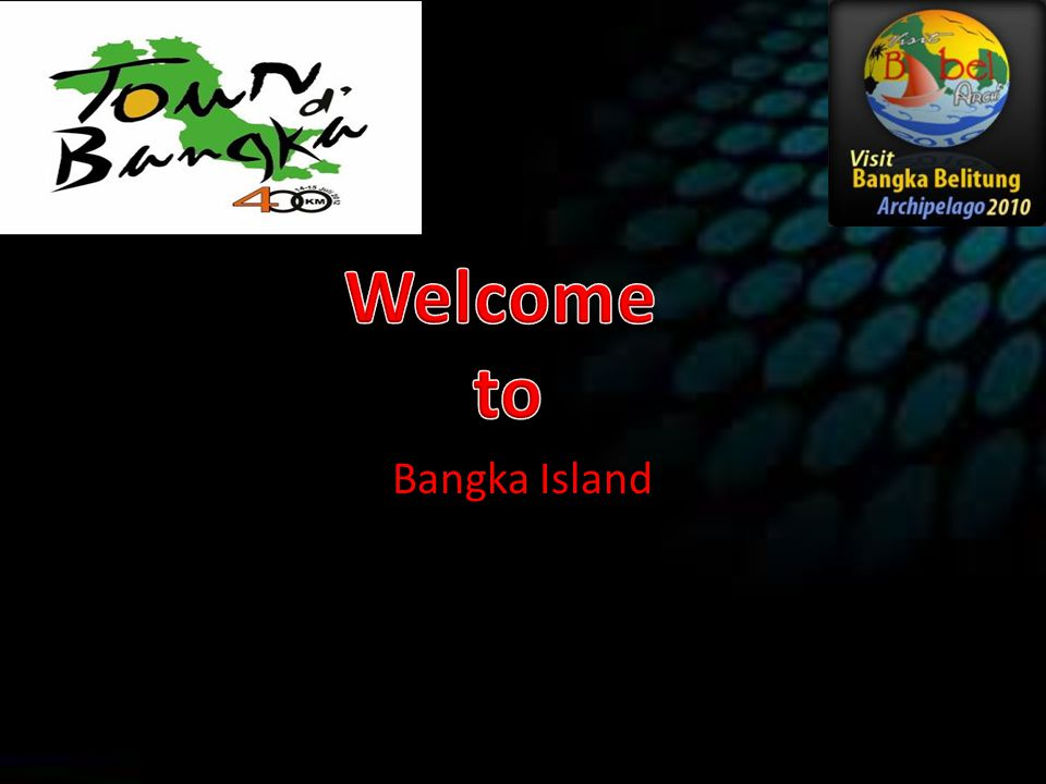 Welcome to Bangka Island
