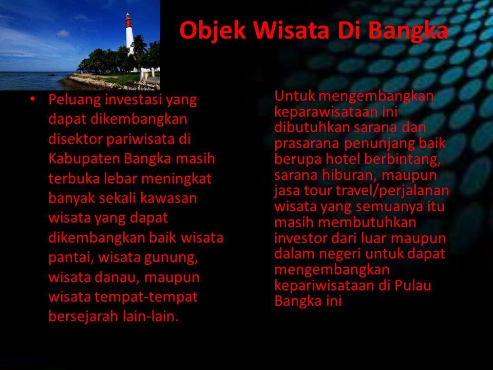 Objek Wisata Di Bangka