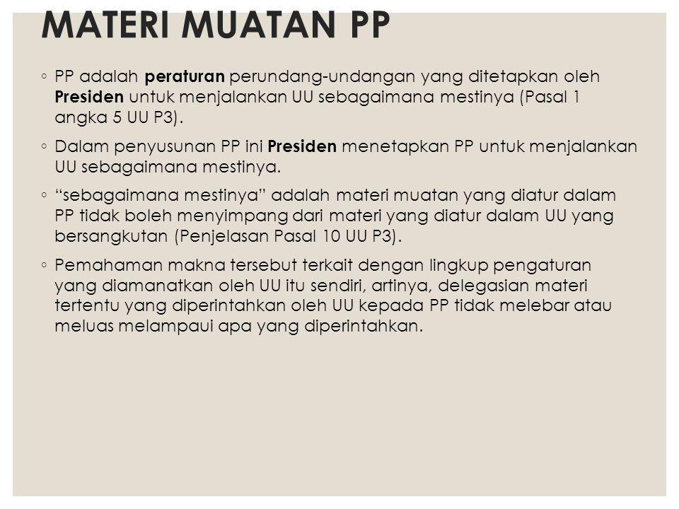 MATERI MUATAN PP