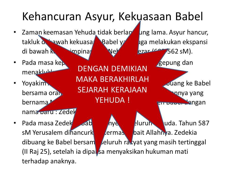 Kehancuran Asyur, Kekuasaan Babel