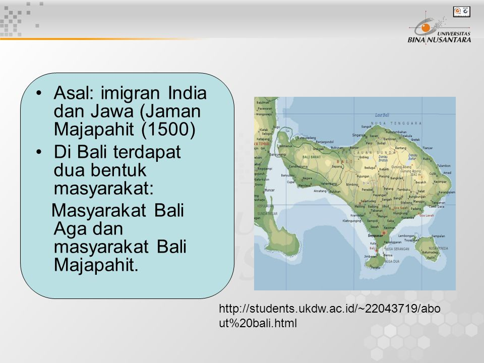 Asal: imigran India dan Jawa (Jaman Majapahit (1500)