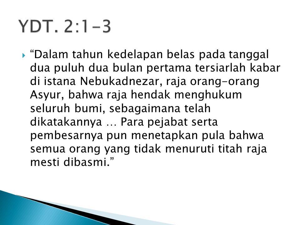 YDT. 2:1-3