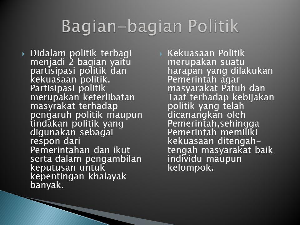 Bagian-bagian Politik