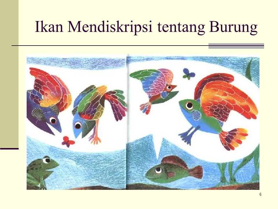 Ikan Mendiskripsi tentang Burung