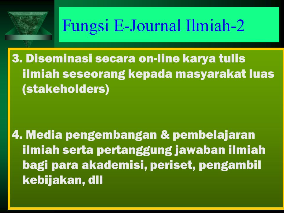 Fungsi E-Journal Ilmiah-2