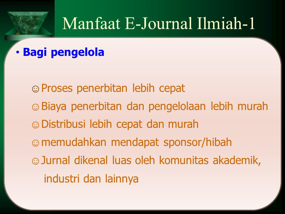 Manfaat E-Journal Ilmiah-1