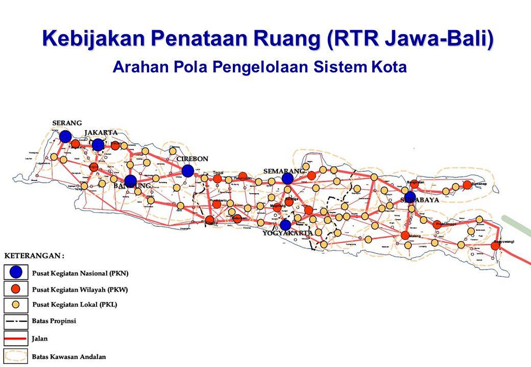 Kebijakan Penataan Ruang (RTR Jawa-Bali)
