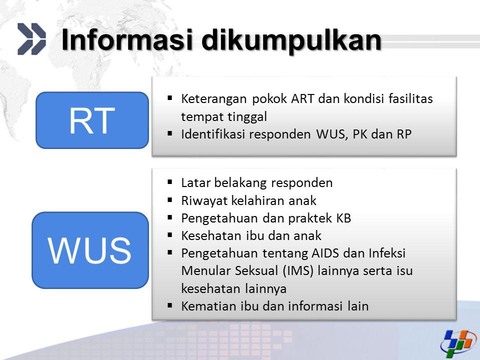 Informasi dikumpulkan