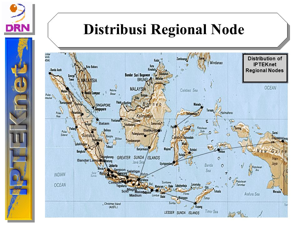 Distribusi Regional Node