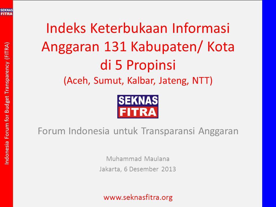 Forum Indonesia untuk Transparansi Anggaran