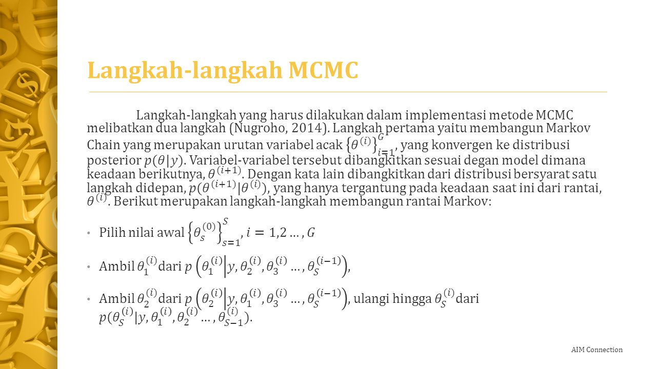 Langkah-langkah MCMC