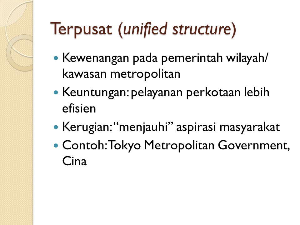 Terpusat (unified structure)