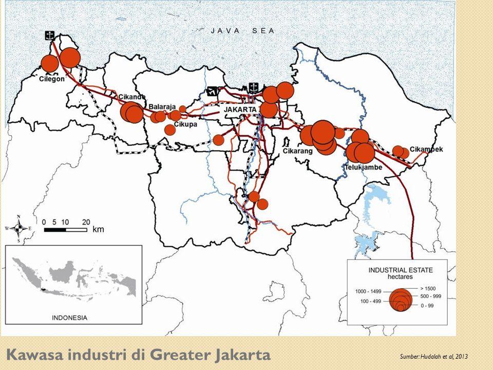 Kawasa industri di Greater Jakarta