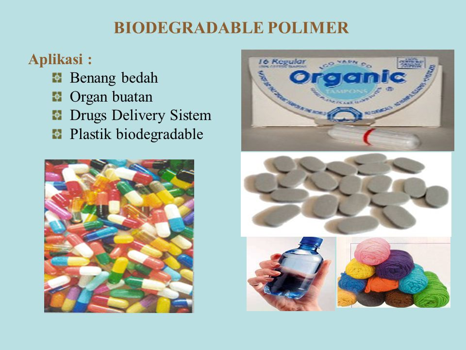 BIODEGRADABLE POLIMER