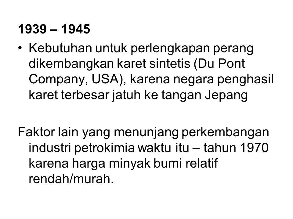 1939 – 1945