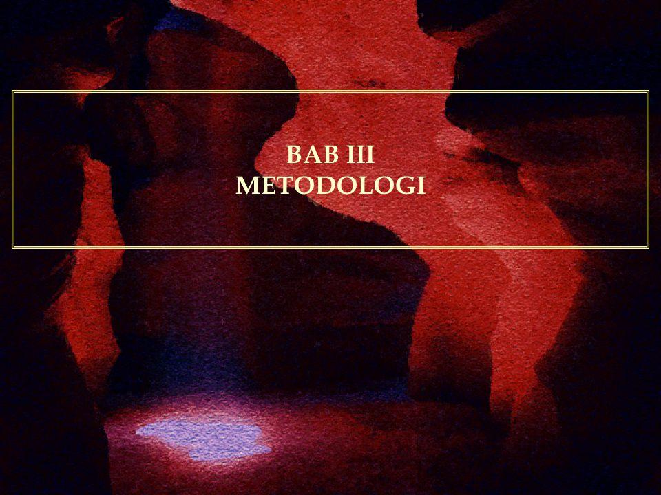 BAB III METODOLOGI