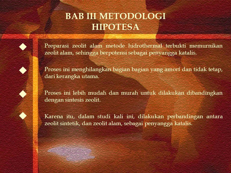 BAB III METODOLOGI HIPOTESA