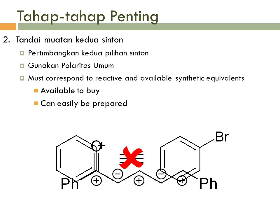  Tahap-tahap Penting 2. Tandai muatan kedua sinton Available to buy