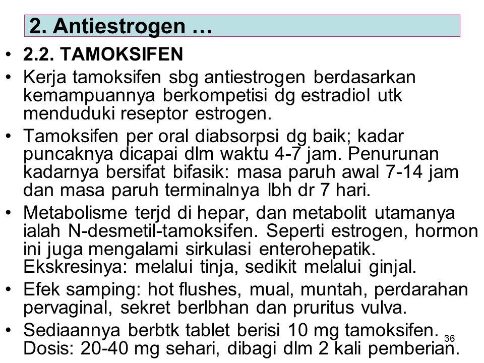 2. Antiestrogen … 2.2. TAMOKSIFEN