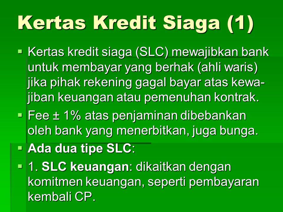 Kertas Kredit Siaga (1)