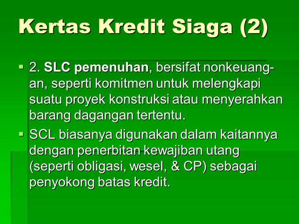 Kertas Kredit Siaga (2)