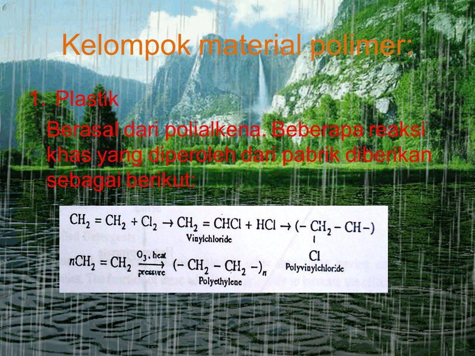 Kelompok material polimer: