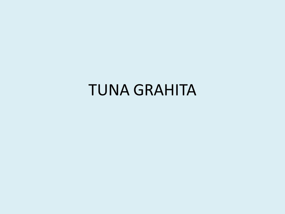 TUNA GRAHITA